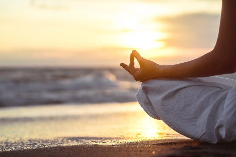 mediter dig ud af stressen