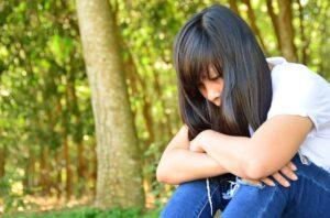 Pige i sorg